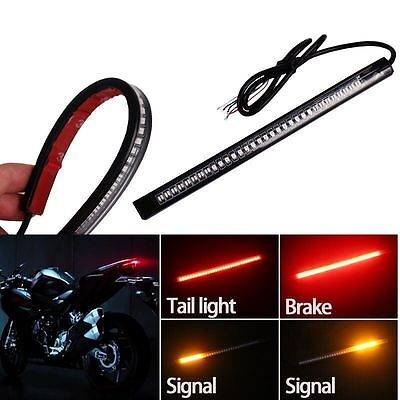 For Ducati Motorcycle 48-LED Bar Brake Tail Light +Left Right Turn Signal Lamp