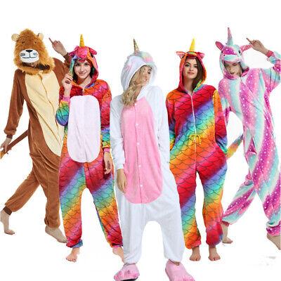 Cheap Adult Onesie (Unisex Adult Onesie11 Unicorn Anime Costume Cosplay Pyjamas kigurumi Sleepwear)