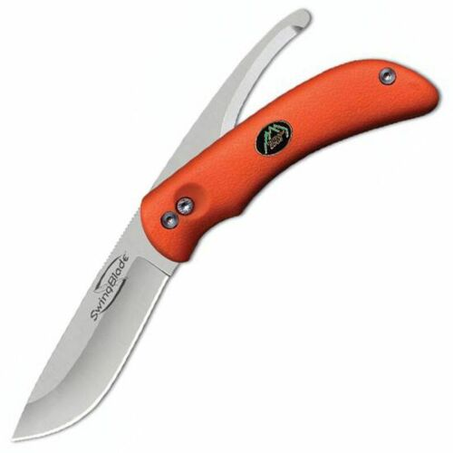 Outdoor Edge SwingBlade SwingBlaze Orange Knife Skinning & Gutting Blade #20084