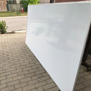 Classroom Size Magnetic White Board 4'x8' by Ghent