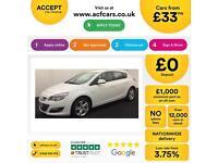 Vauxhall/Opel Astra 1.4i VVT 16v ( 100ps ) 2013MY SRi FROM £33 PER WEEK !