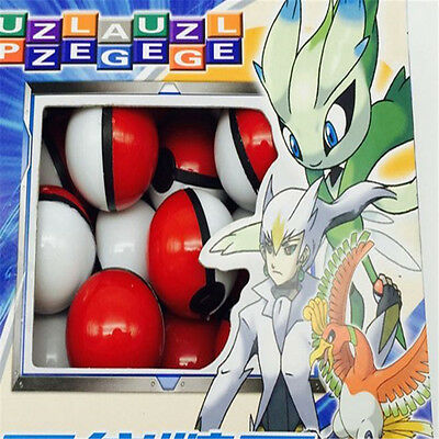 36pcs Pokemon Ball with Anime Action Figure Mini Pocket Monsters Game Toys Gift