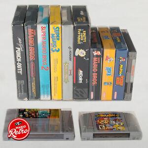 Nintendo, SNES, N64, NES Video Game Protectors Case
