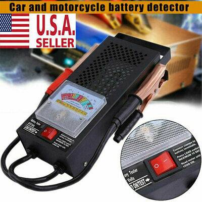 New Battery Load Tester 100 Amp Load Type 6V & 12V Mechanics Car Truck USA