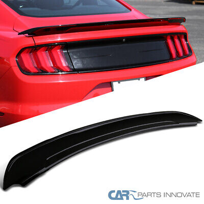 For 15-20 Ford Mustang Track Pack Style Gloss Black Rear Trunk Spoiler Wing Oem Wing Spoiler