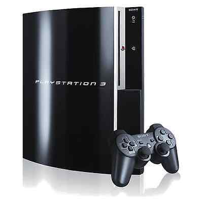 Sony PlayStation 3 40 GB Piano Black Console Complete