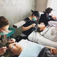 Microblading and Eyelash Extension Training
