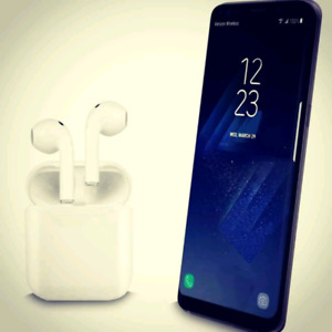 Ecouteurs sans fil Bluetooth wireless airpods  iPhone et Android