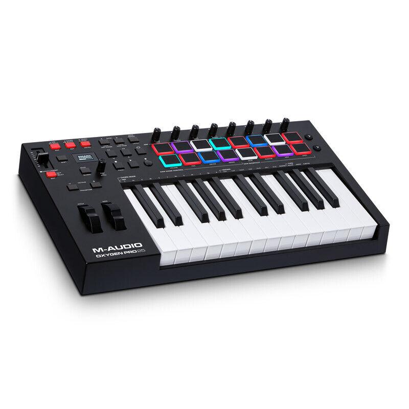 M-Audio Oxygen Pro 25 USB MIDI Performance Controller Keyboard (NEW)
