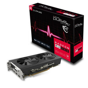New AMD RX580 Sapphire Pulse 8GB GPU graphics card (3 available)