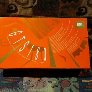 JBL GTS180 Amp And GTX10 subwoofer both brandnew in boxes