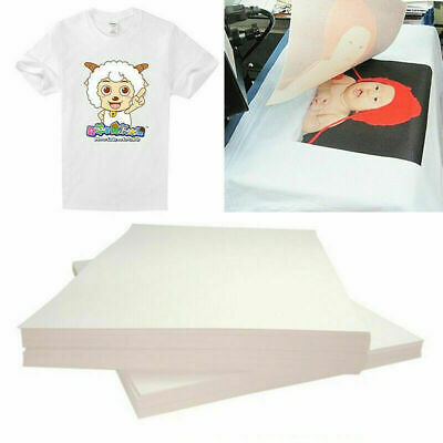 Sublimation Paper A4 100 Sheets Heat Transfer For Canon Hp Epson Sublimation Ink