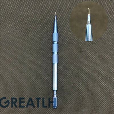 Sapphire Blades Hair Transplant Knife Titanium Handle Hair Implant Pen