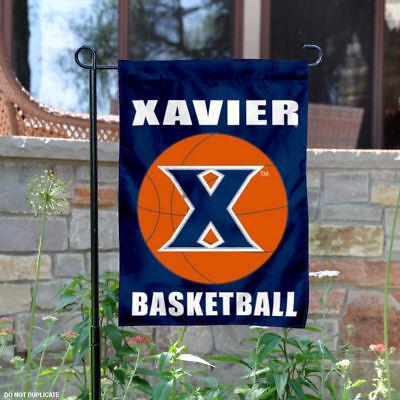 Xavier University Basketball Garden Flag and Yard Banner Xavier University Basketball