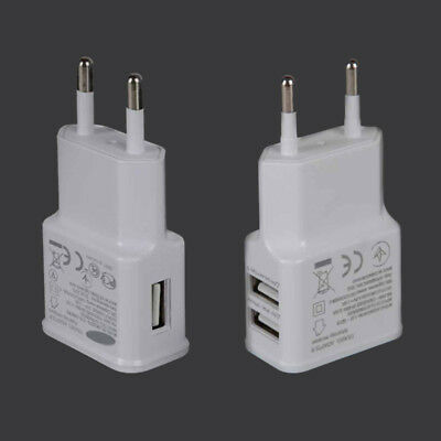 2A USB Netzteil Ladekabel Ladegerät Netzstecker FÜR 100-240V Power Adapter Handy 240 Usb