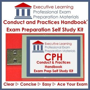 Conduct and Practices Handbook CPH Exam Prep 2018 Textbook Kit