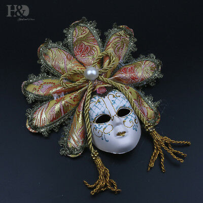 Masquerade Mask Mardi Gras Mask for Women Venetian Party Prom Ball Wall Decor (Mardi Gras Ball Decorations)
