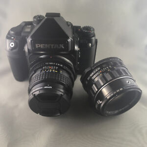 PENTAX 67ii WITH TWO LENSES