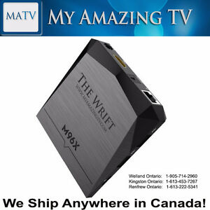 M96X Android TV Box Kingston Ontario Canada