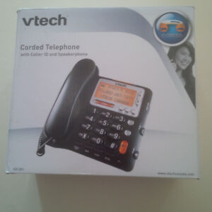 Home Phone - Vtech corded, caller ID, speakerphone