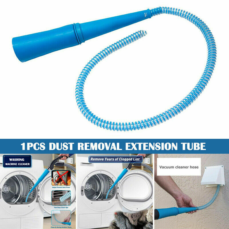 Vent Vacuum Hose Removes Lint Dust Portable Cleaning for Was