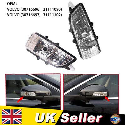 Front Left Wing Mirror Indicator Lens Light Lamp For Volvo S40 V50 C30 S60 V70