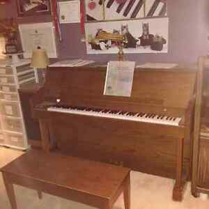"Heintzman ""upright grand"" piano (1969 serial # 145200)"