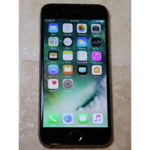 Apple iPhone 6 16GB unlocked used works good black color