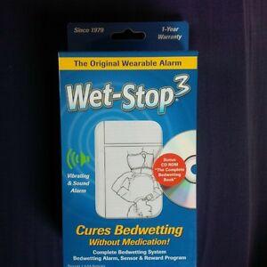 Wet-Stop bedwetting Alarm/vibration system