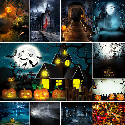 Halloween Backdrops Photography Photo Background Pumpkin Wood Floor Backdrops ](Halloween Pumpkin Background)