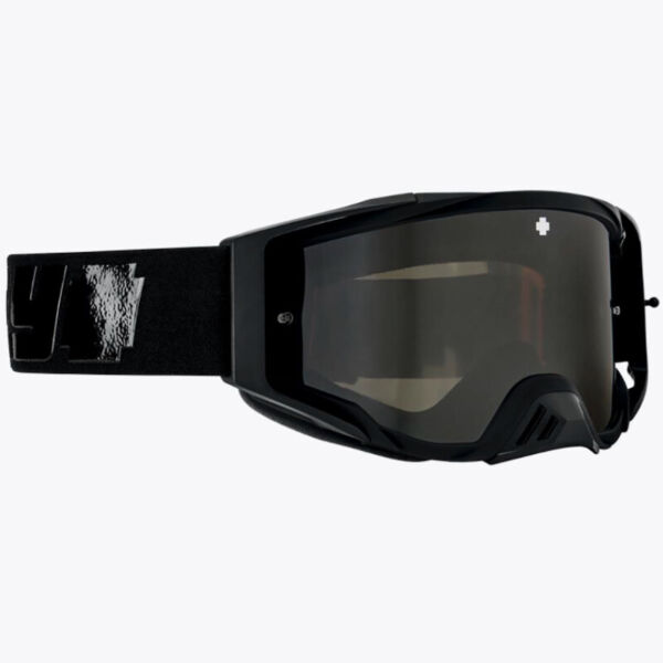 As new spy optics foundation mx goggle - black w 3 lenses