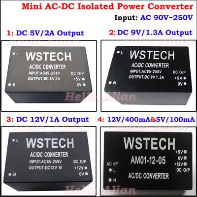 Mini Ac-dc Converter 110v 220v 230v To 5v 9v 12v Adapter Power Supply Module