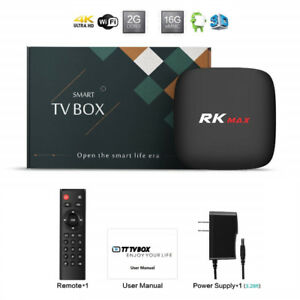 Android UHD ★4K ★WiFi N ★OTT ★TV BOX ★IPTV ★16GB ★2GB ★100Mbps