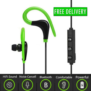 Bluetooth Earphones Ear Hook Wireless Headphones Sport Headset
