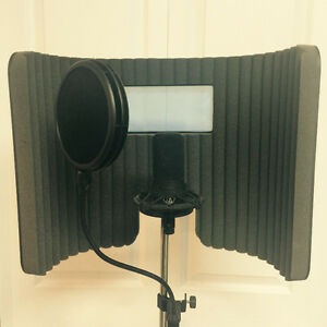 Audio Technica AT4040 Professional recording mic package!