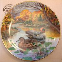 Collector Plate-The Green Winged Teal