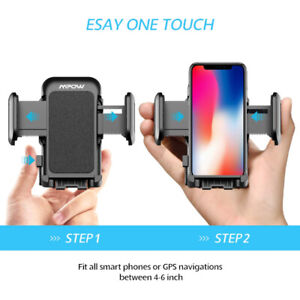 Mpow Phone Holder for Car, Universal Car Phone Mount, Adjustable