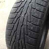 NOKIAN WINTER TIRES!! USED ONE SEASON!!
