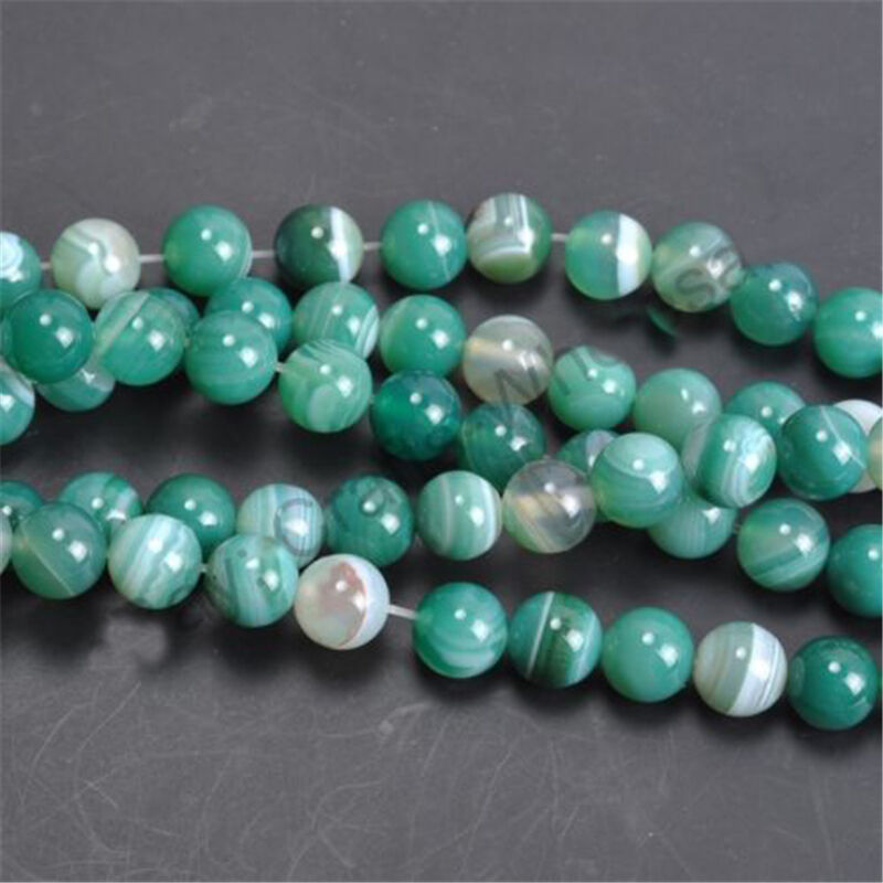 6//8//10mm Wholesale Turquoise Gemstone Round Loose Spacer Beads Jewelry Making