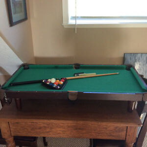 Miniature Pool Table from Restoration Hardware