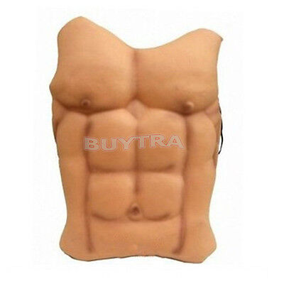 Halloween FAKE MUSCLE CHEST FANCY DRESS COSTUME ACCESSORY SUPER HERO BATMANSW_$m