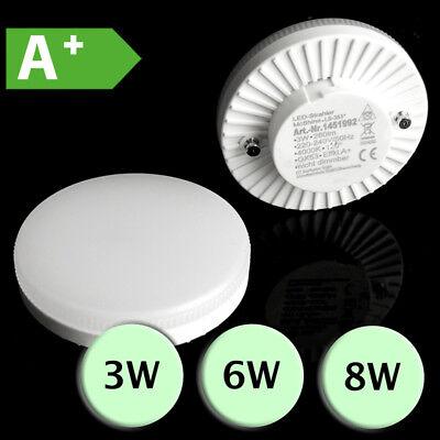 GX53 LED Lampe Leuchtmittel Leuchte Strahler 3W, 6W oder 8W