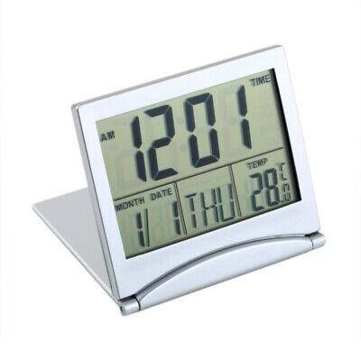 Mini Digital LCD Calendar Alarm Clock Desktop Thermometer Temperature Display US (Clock Desktop)