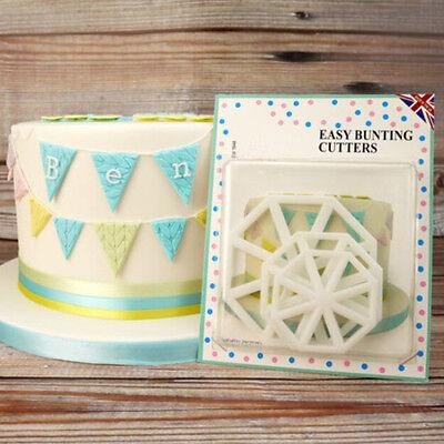 3pcs Cloud Plastic Fondant Cutter Cake Mold Fondant Cupcake Decorating Tools