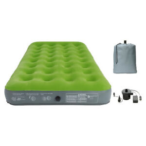 Single High Twin Air Mattress with Pump - Embark