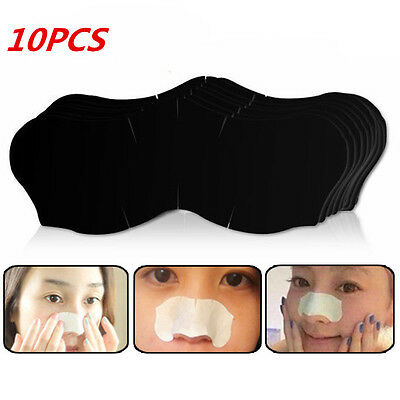 10X Nose Blackhead Pore Cleansing Cleaner Removal Stickers Nose Strips 2 Colors