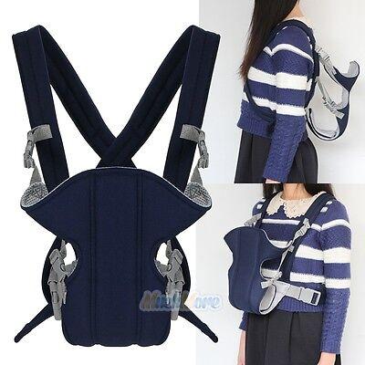 Newborn Infant Baby Carrier Adjustable Comfort Sling Rider Backpack Wrap Rider