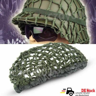 Helm Netz Abdeckung Taktische Helmet Net Camouflage Net Abdeckung für M1 M35 M88, gebraucht gebraucht kaufen  Hamburg
