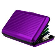 Purple Business Card Case
