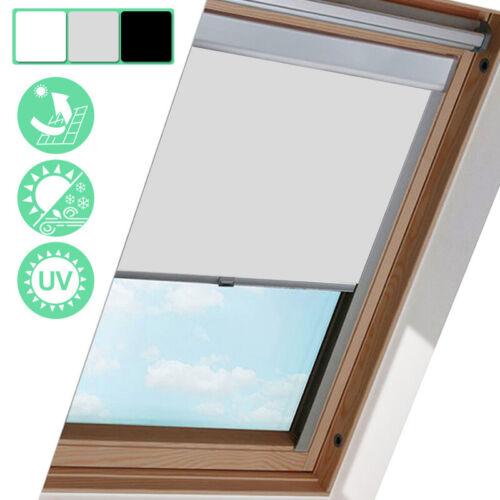 Verdunkelungsrollo Dachfensterrollo 100% Thermo-Rollo für GGL GGU GHLfür Velux
